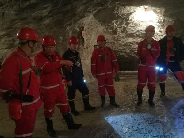 招金礦業開展安全管理互查活動成效顯著